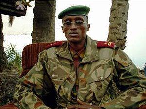 Laurent Nkunda: recherché par le gouvernement congolais pour crimes de guerre et crimes contre l'humanité © 2004 Reuters