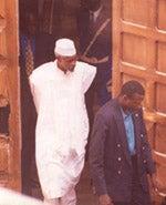 L'ancien président tchadien Hissein Habre