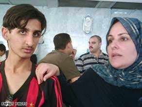 Ahmed Haythem and his mother, Mohasin, were both killed in the Blackwater shootings in Baghdad on September 16, 2007. © Private