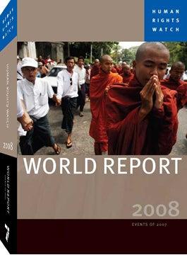 Relatório mundial da Human Rights Watch © 2008 Human Rights Watch