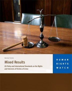 Mixed Results: US Policy and International Standards on the
