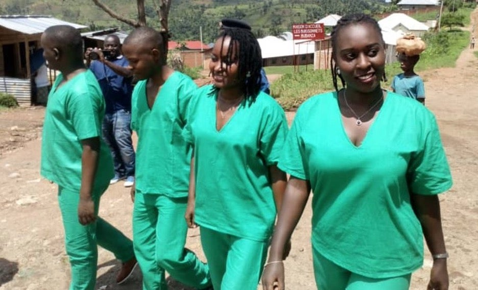 journalists in Burundi attend court session