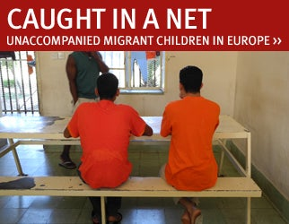 Caught in a Net - Unaccompanied Migrant Children in Europe