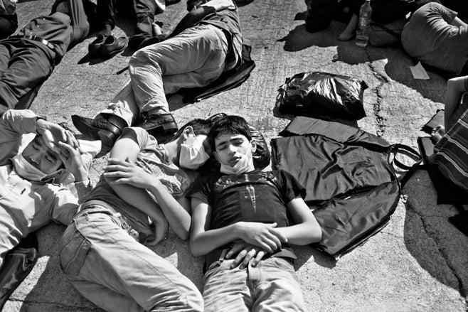 יוון מהגרים 2009