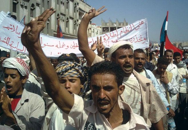 2009_イエメン_Protests