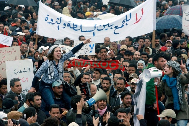 Revolutions and Political Violence: Morocco: Cosmetic ... Arab Spring Violence
