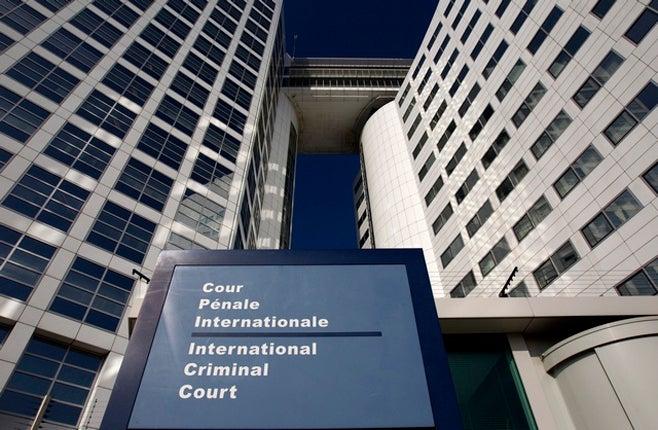 <p>Le siège de la Cour pénale internationale, à La Haye (Pays-Bas).</p>