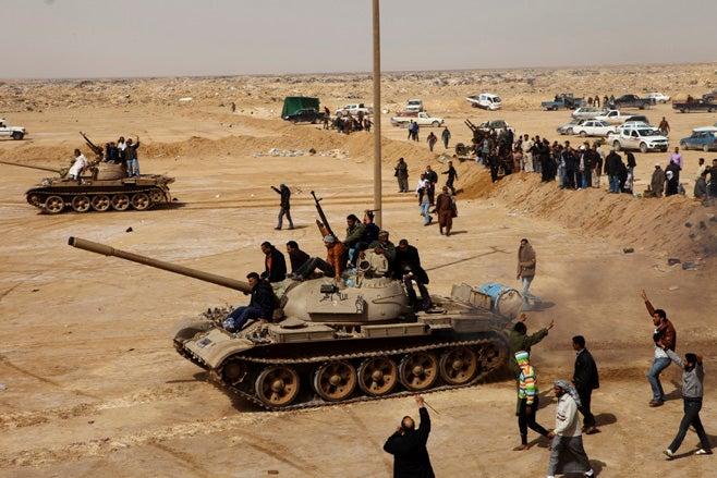 Libya - Tank
