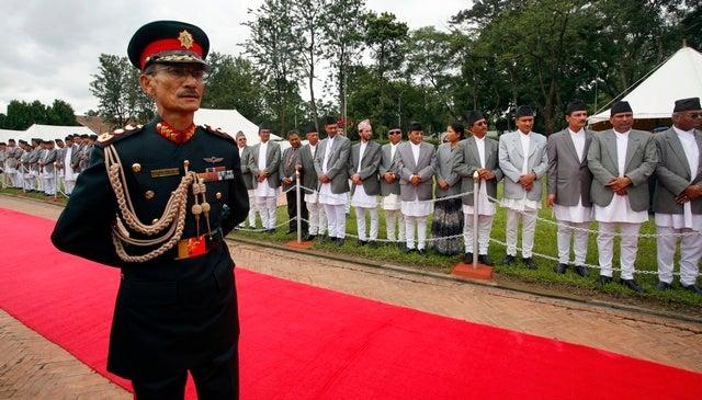 Nepal Army Ranks Chhatraman Gurung Nepal Army