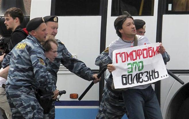 Condenado por Propaganda de Homosexualidad