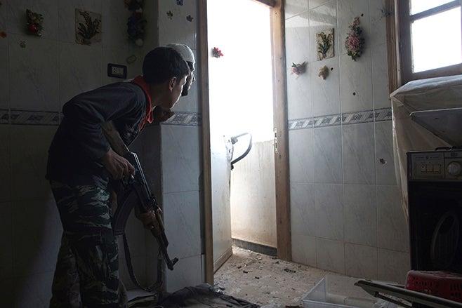 syria child soldier 2014