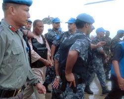 Charles Taylor Arrested 2007 DE