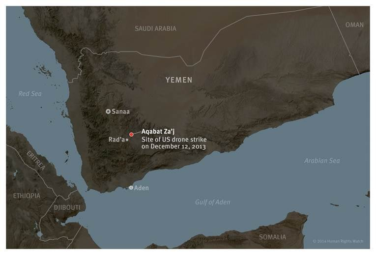 US Drone Attack on Marriage Procession in Yemen HRW