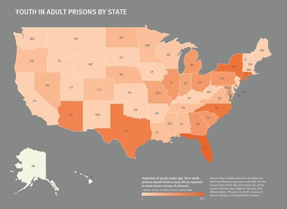 Youth in Solitary Confinement in Jails and Prisons Across