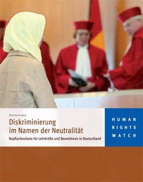 Diskriminierung im Namen der Neutralität