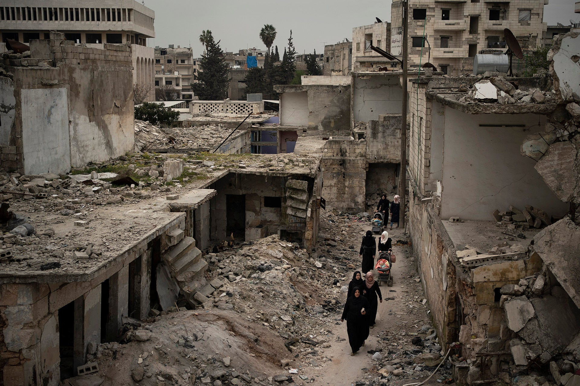Russia Eviscerates Syria Cross-Border Aid Program Despite Pandemic | Human Rights Watch