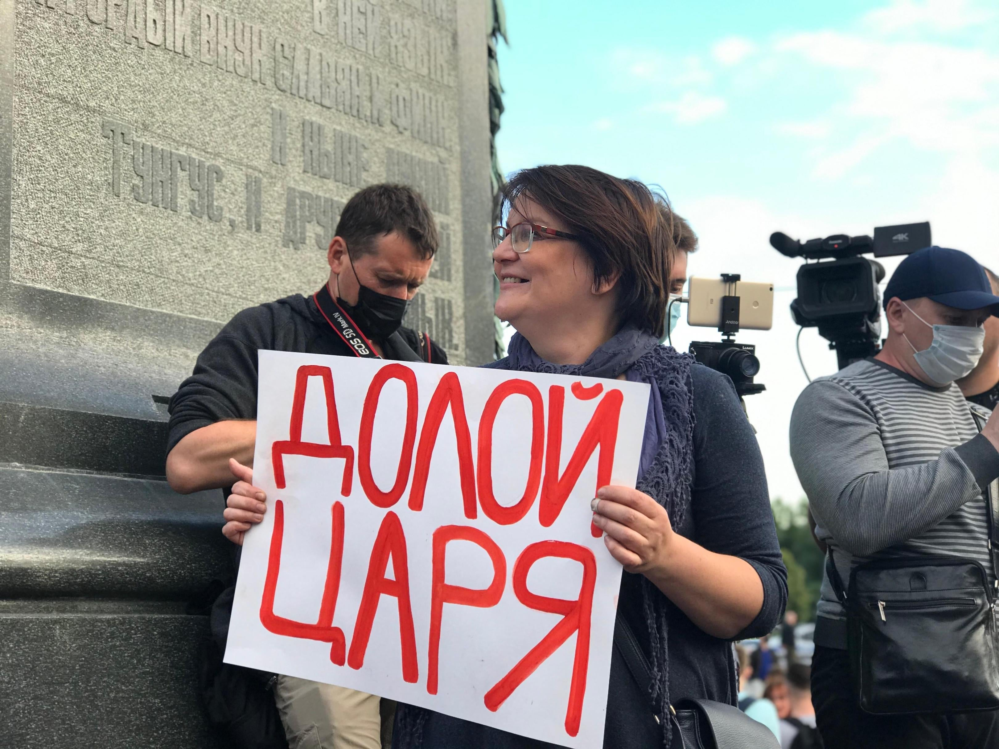 Russia: Activist Facing Charges Over Peaceful Protest