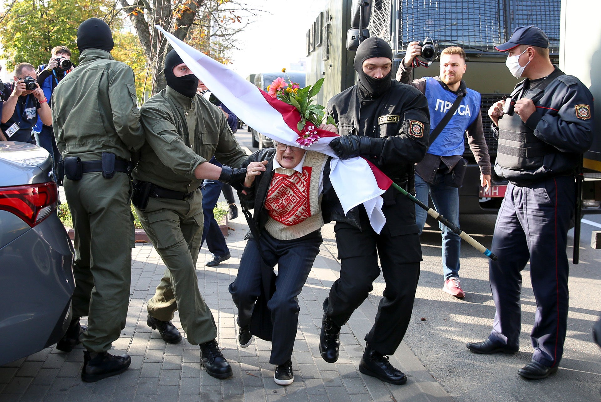 Police Abuse Continues in Belarus | Human Rights Watch