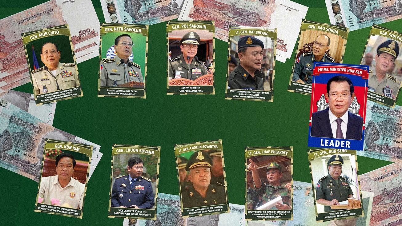 Cambodia: Hun Sen and His Abusive Generals