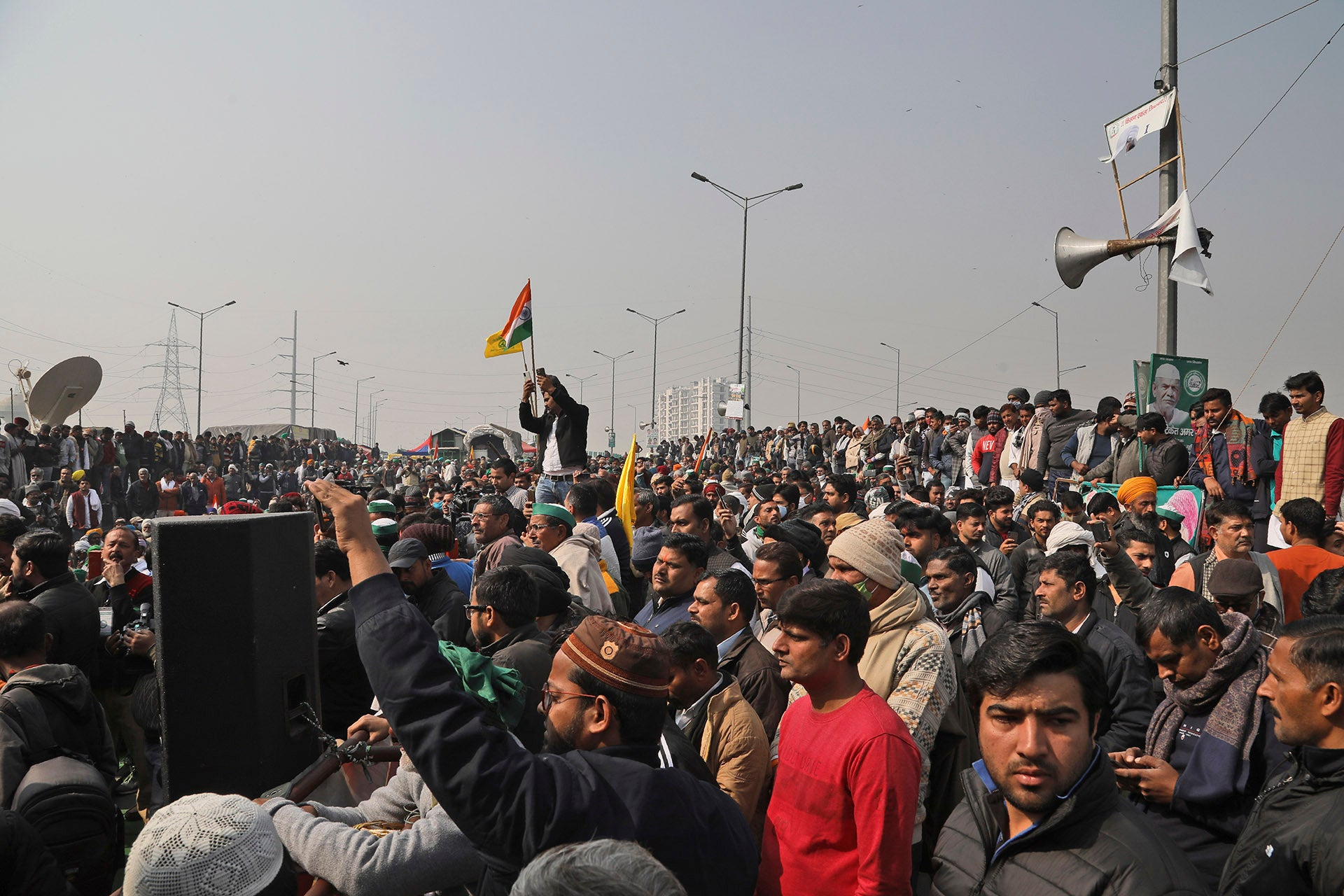 Indian Authorities Lash Out at Protests