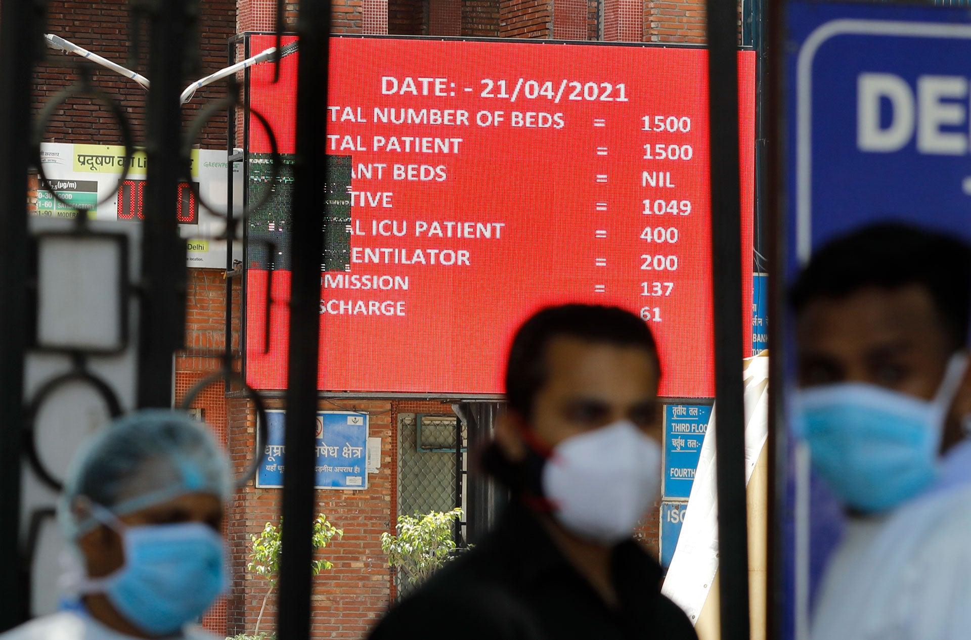 India Falters Amid Growing Covid-19 Crisis
