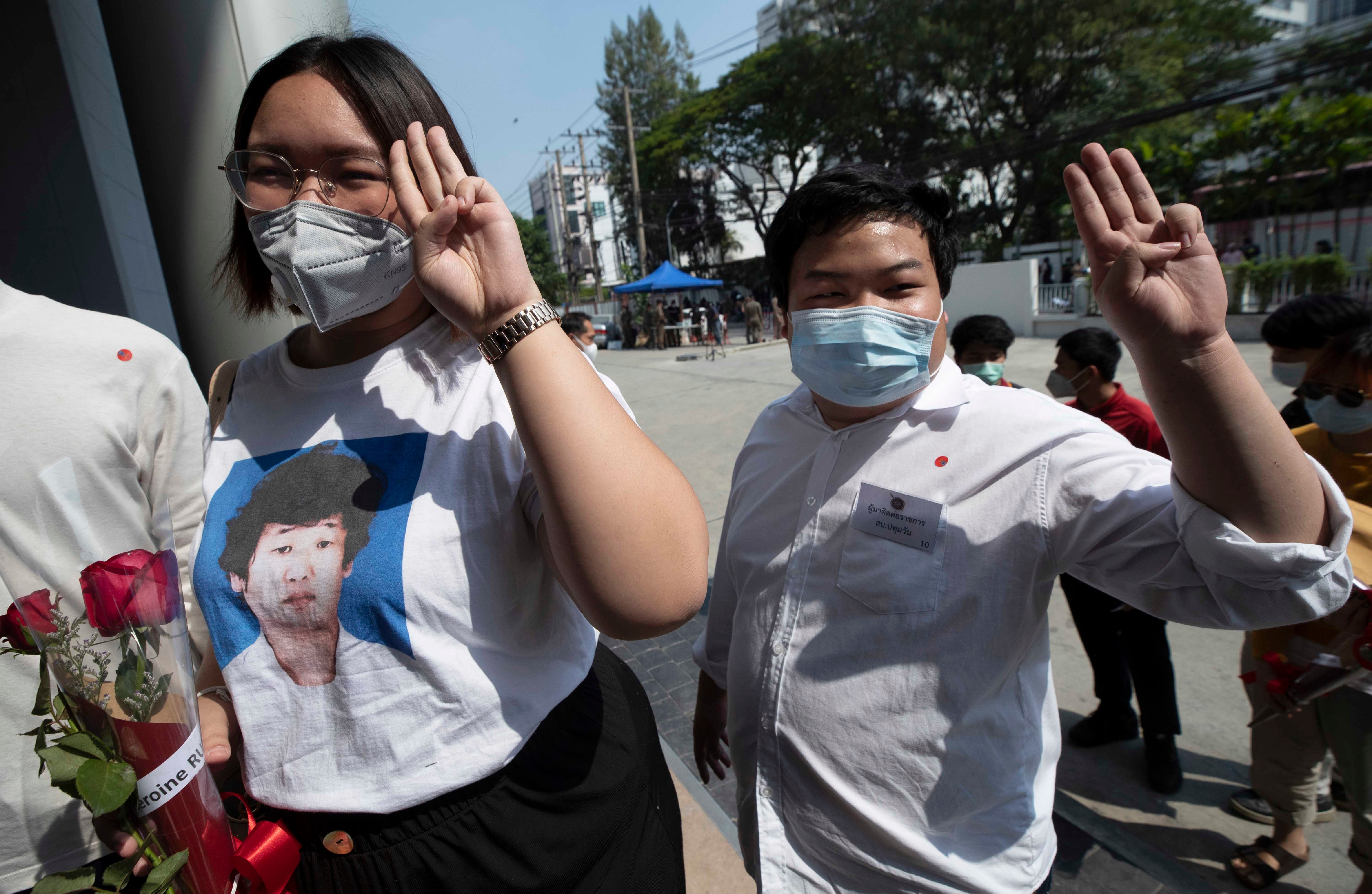 Thailand Unjustly Detained Democracy Activists  - Human Rights Watch