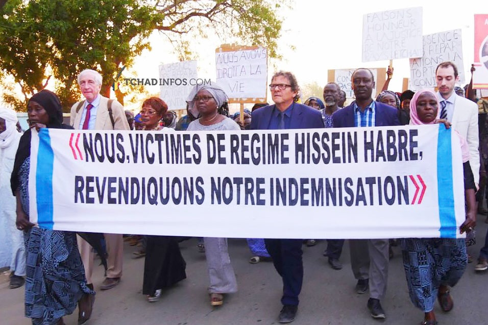 Hissène Habré's Victims Continue Fight for Reparations