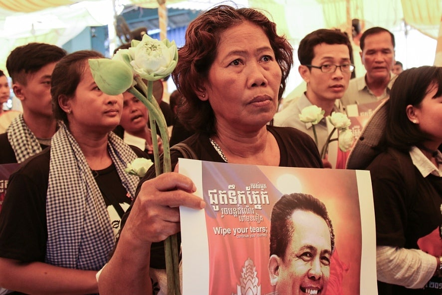 Cambodia: No Justice At 5-Year Anniversary of Kem Ley's Death