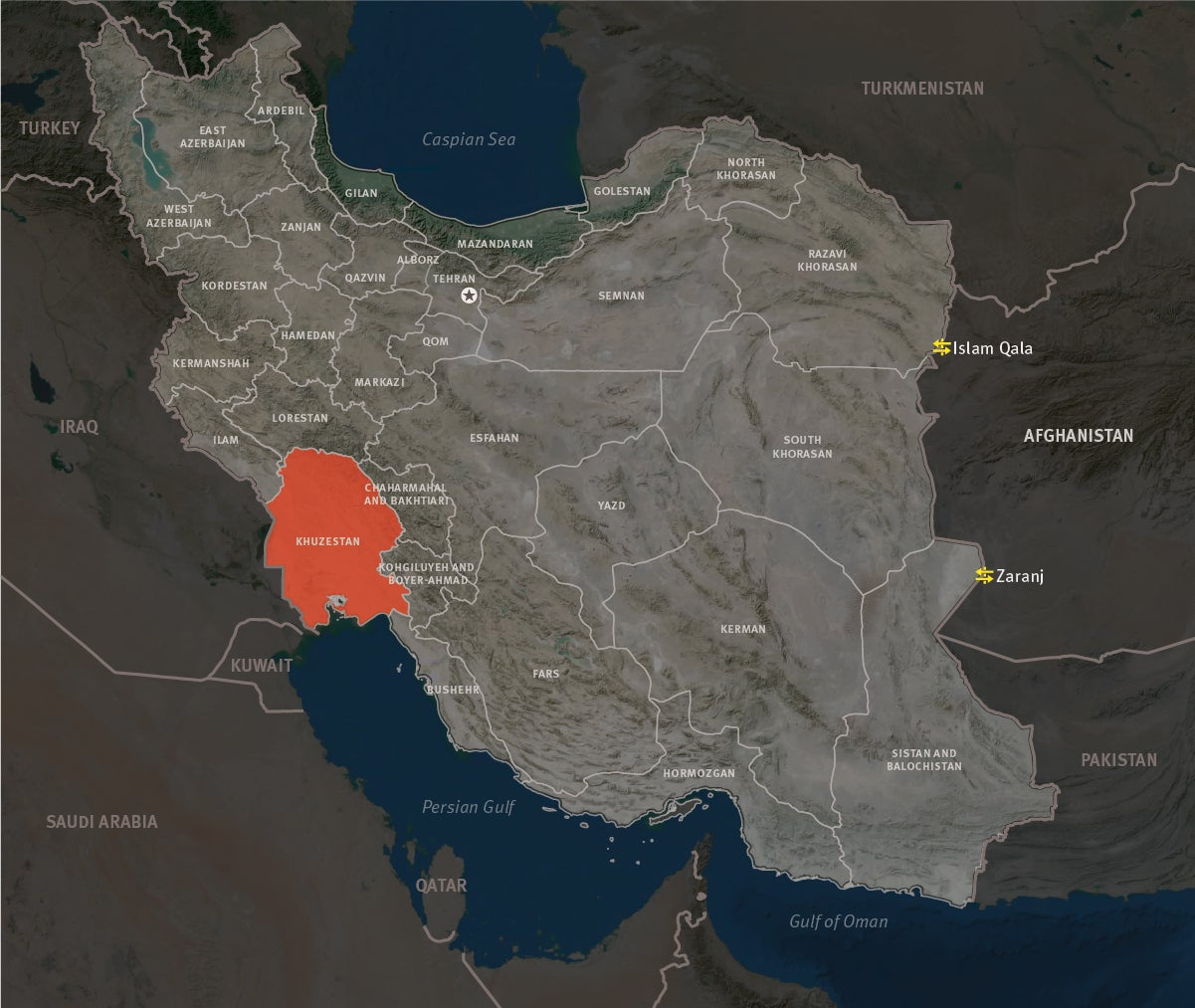 Iran: Deadly Response to Water Protests