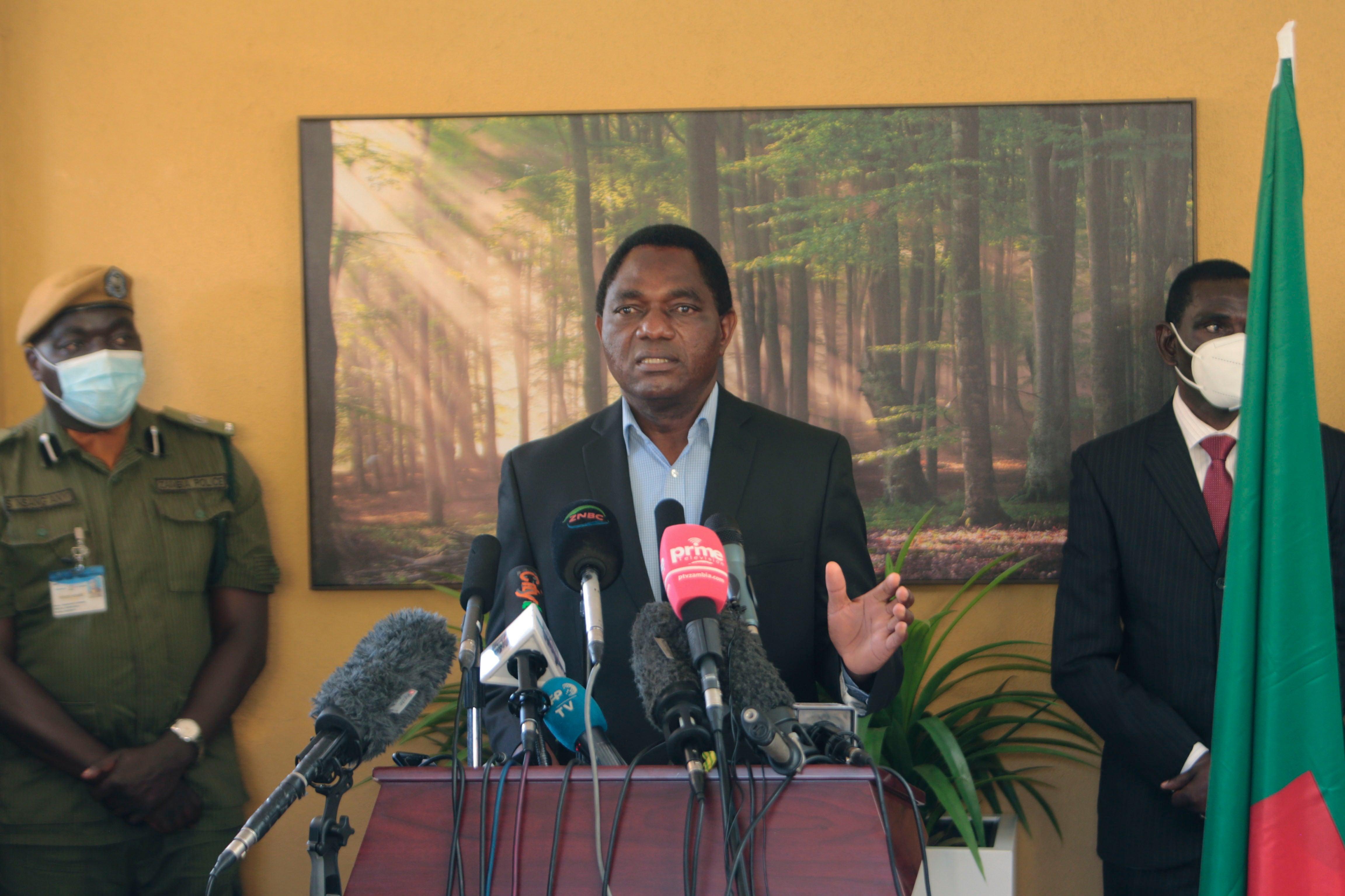 Zambia's Peaceful Transition 'a New Dawn?'