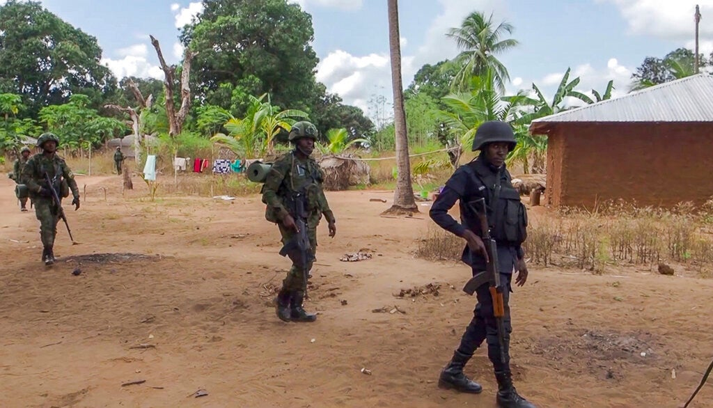 Mozambique Government Retakes Key Town from Militants
