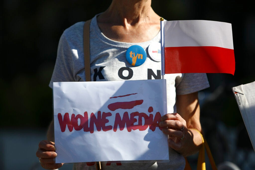 Poland Targets TV Channel, Limits Press Freedom and Pluralism