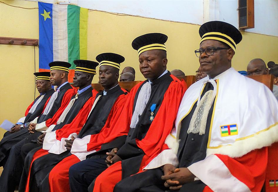 Central African Republic: Important Step for Justice