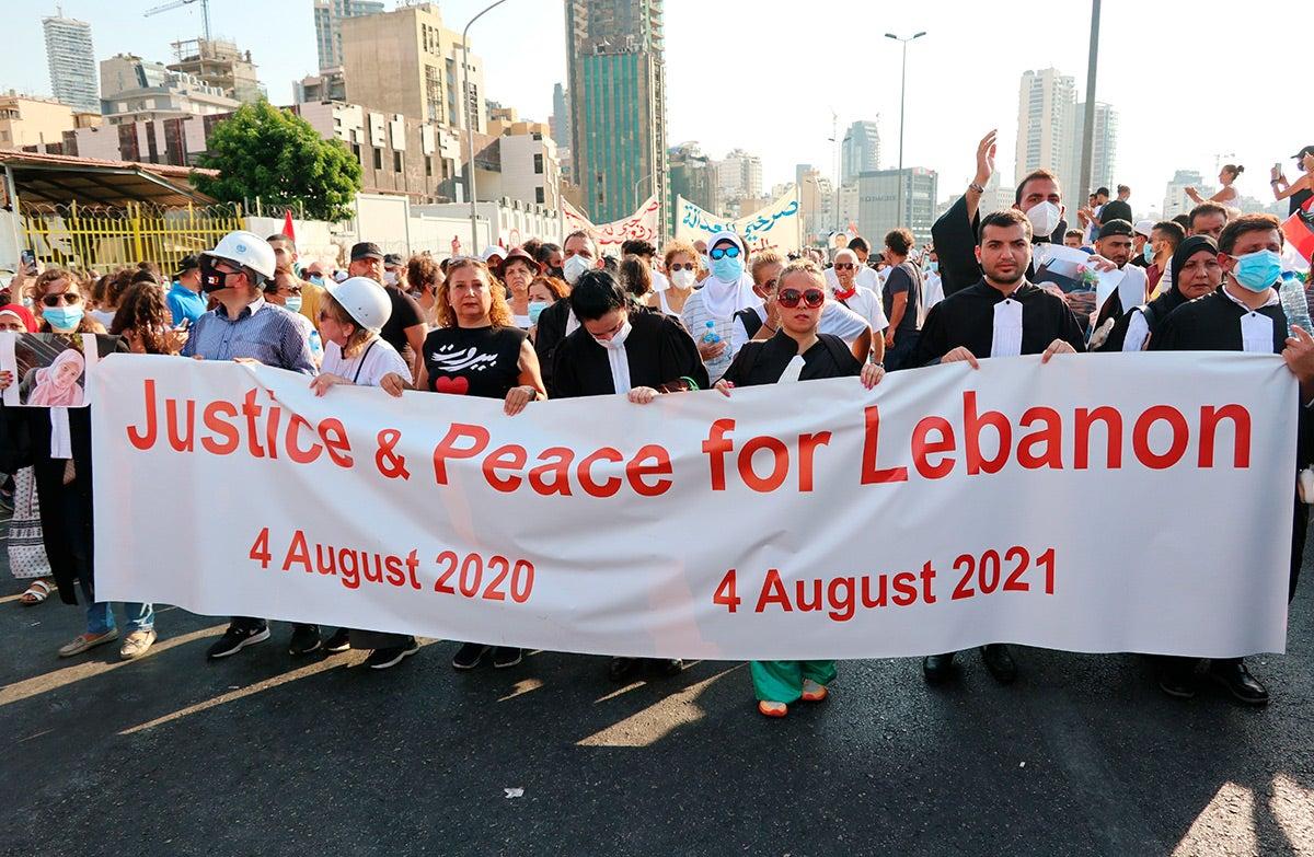 European Parliament Calls for UN Probe into Beirut Blast