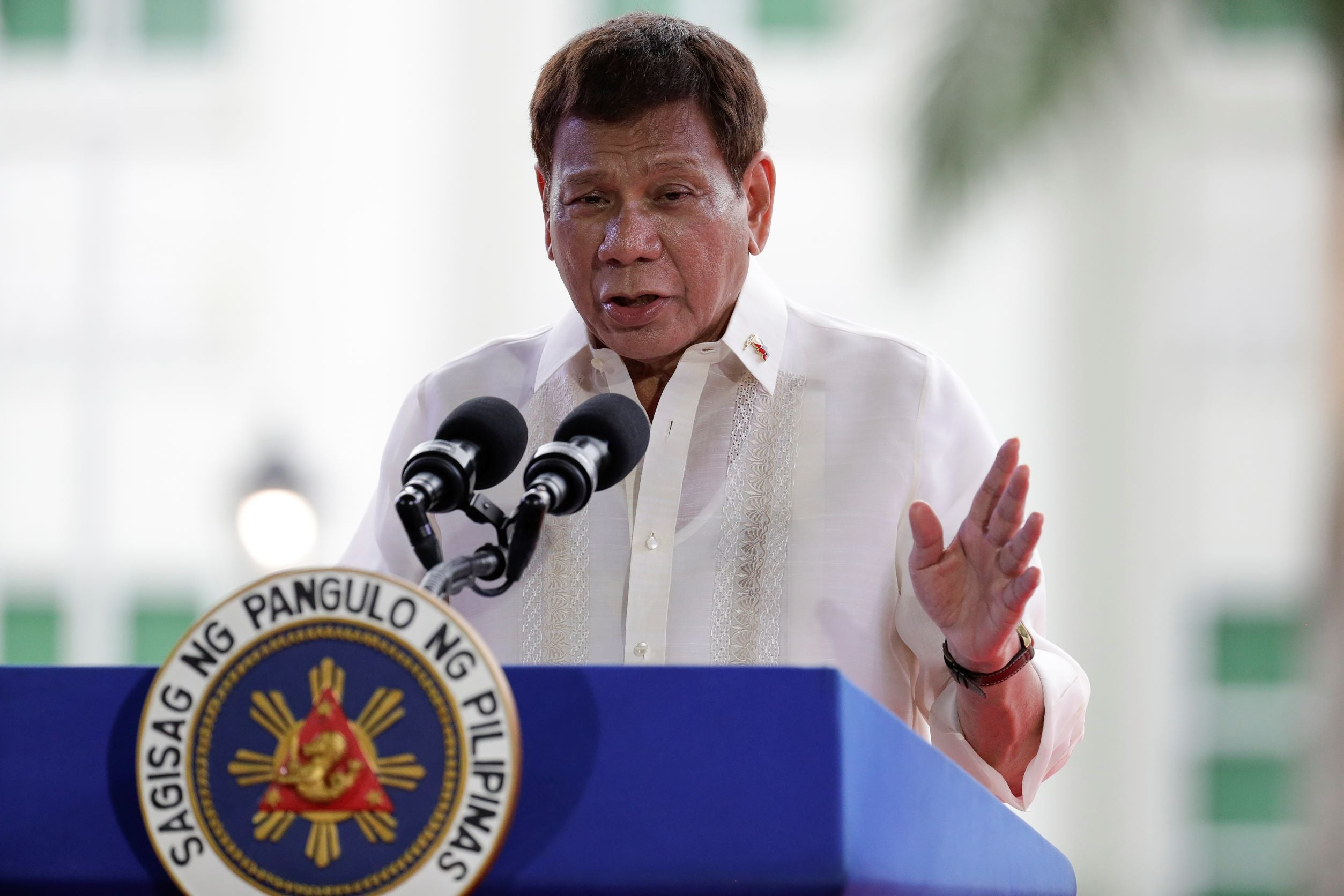 Duterte is worried about the ICC. He should be.