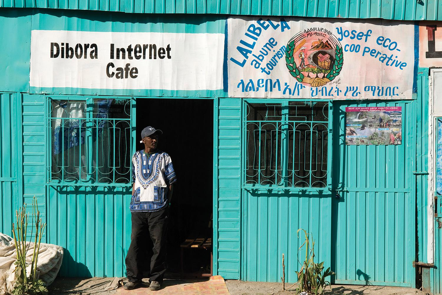 Opening up the Internet to Close the Poverty Gap