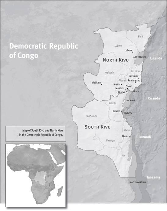 North and South Kivu
