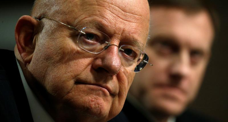 Director of National Intelligence James Clapper testifies before a Senate Armed Services Committee hearing on foreign cyber threats, on Capitol Hill in Washington, U.S., January 5, 2017.