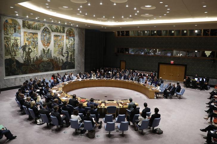 UN Security Council Meeting