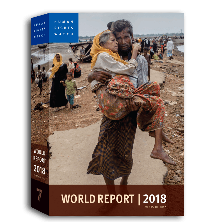 World Report 2018 Cover Image  - © 2018 Human Rights Watch