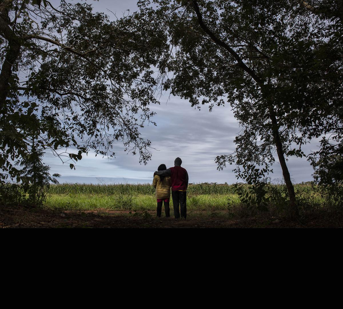 Irupe and Pinon, both in their 40s, live in a community a few hours' drive from Campo Grande, the capital city of Mato Grosso do Sul in mid-west Brazil.