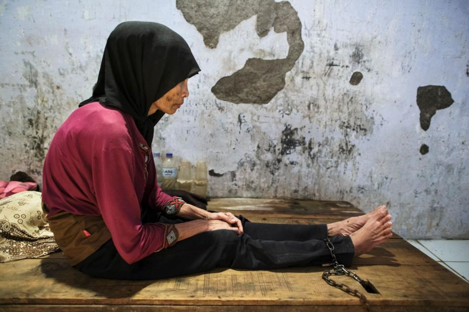 Shackling of Women in the Name of Mental Health