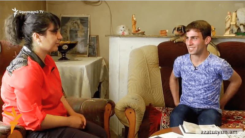 Արթուր Հակոբյանը հարցազրույց է տալիս RFE/RL Հայաստանյան գործակալությանը։ Ազատություն ռադիոկայան: