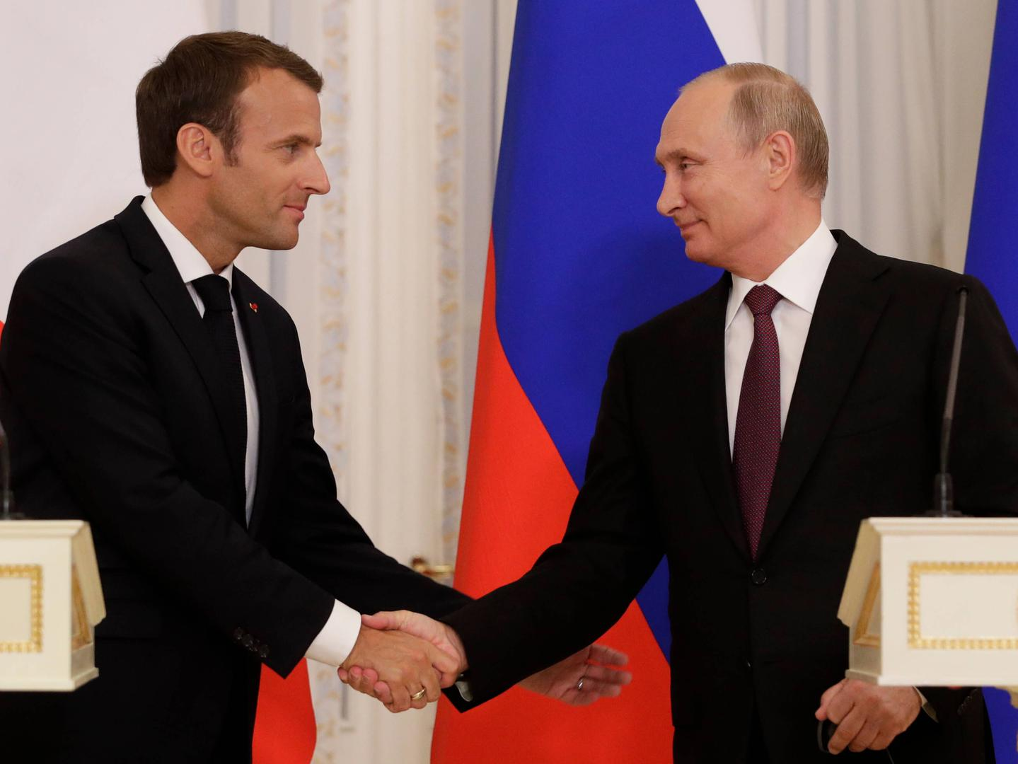 Why Macron Should Speak Frankly With Putin About Human Rights Human Rights Watch