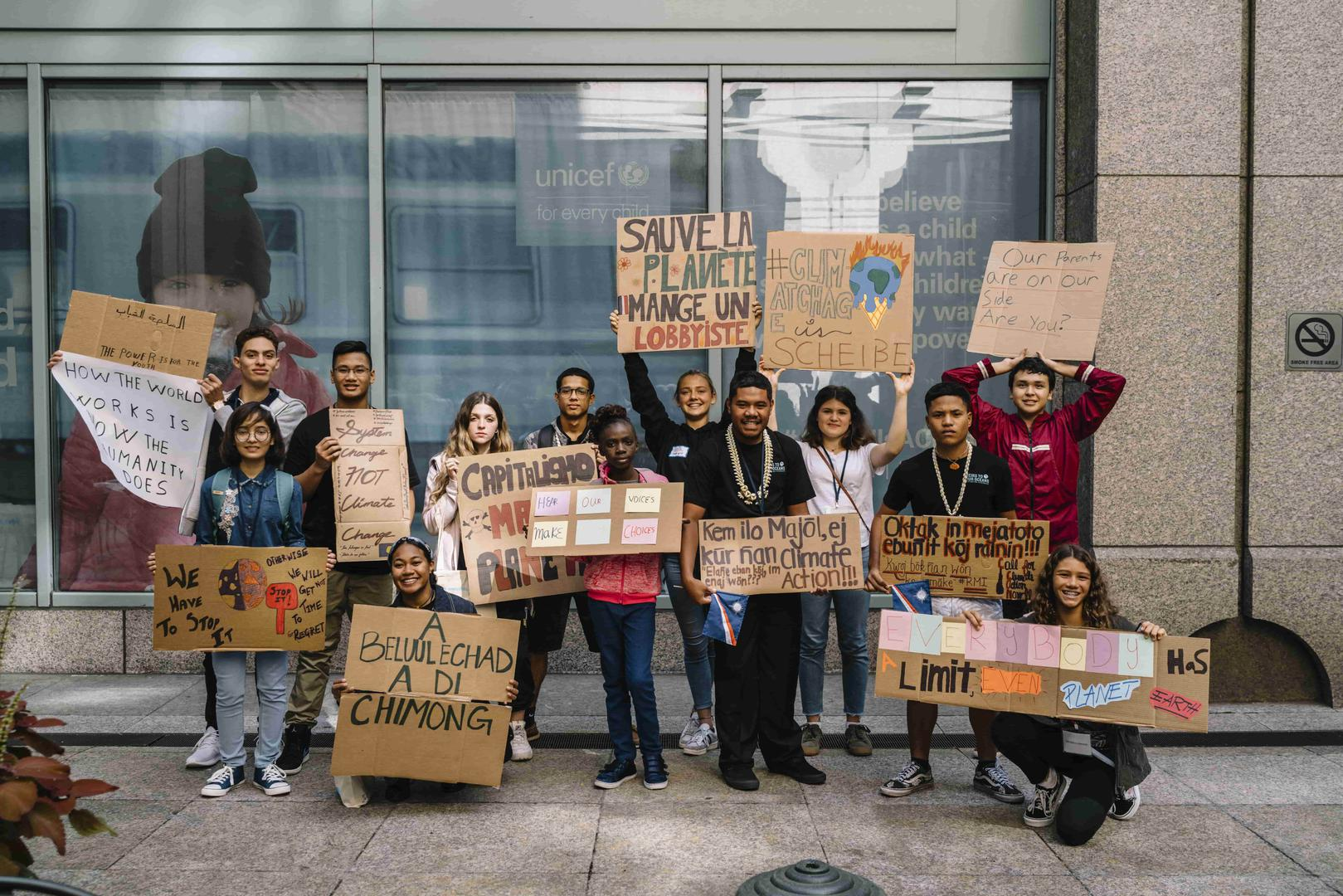 Youth activists from all continents have brought a complaint to the UN Committee on the Rights of the Child (CRC) on climate change.