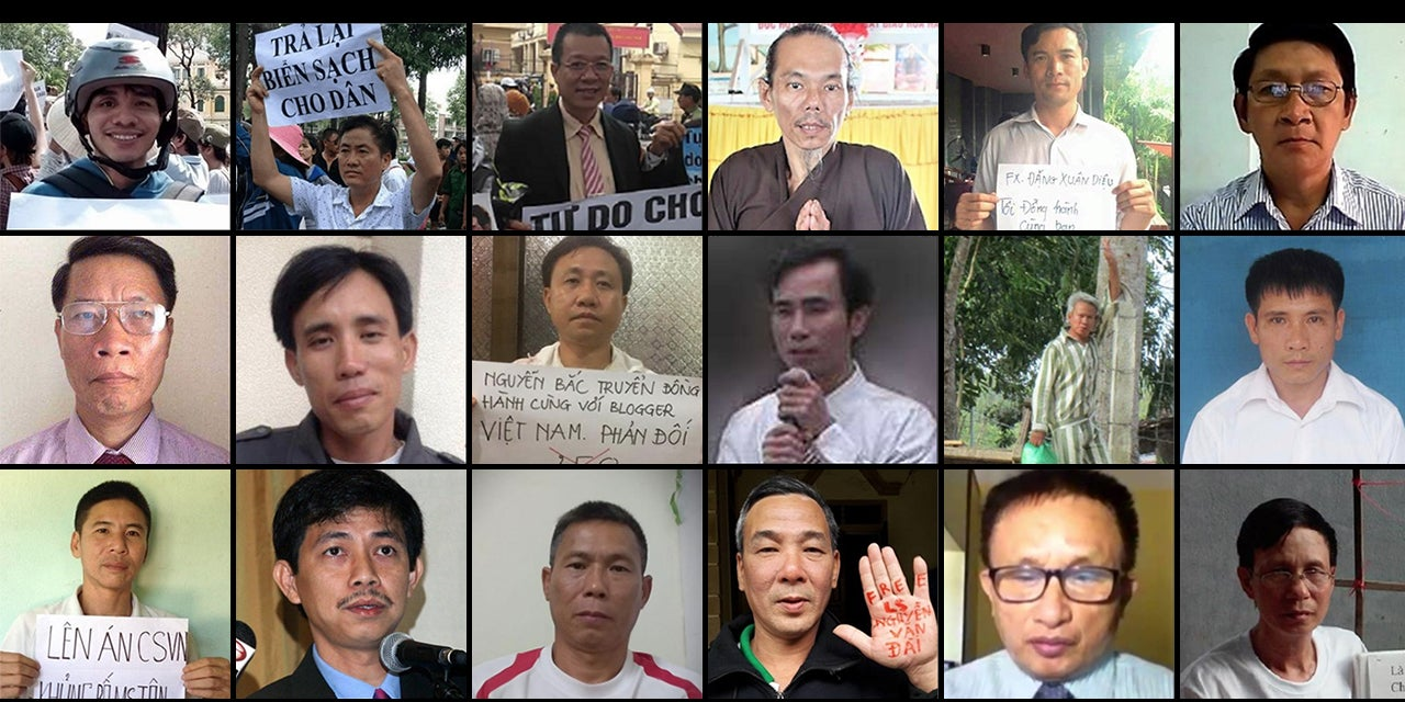 Vietnam Crackdown On Rights Human Rights Watch