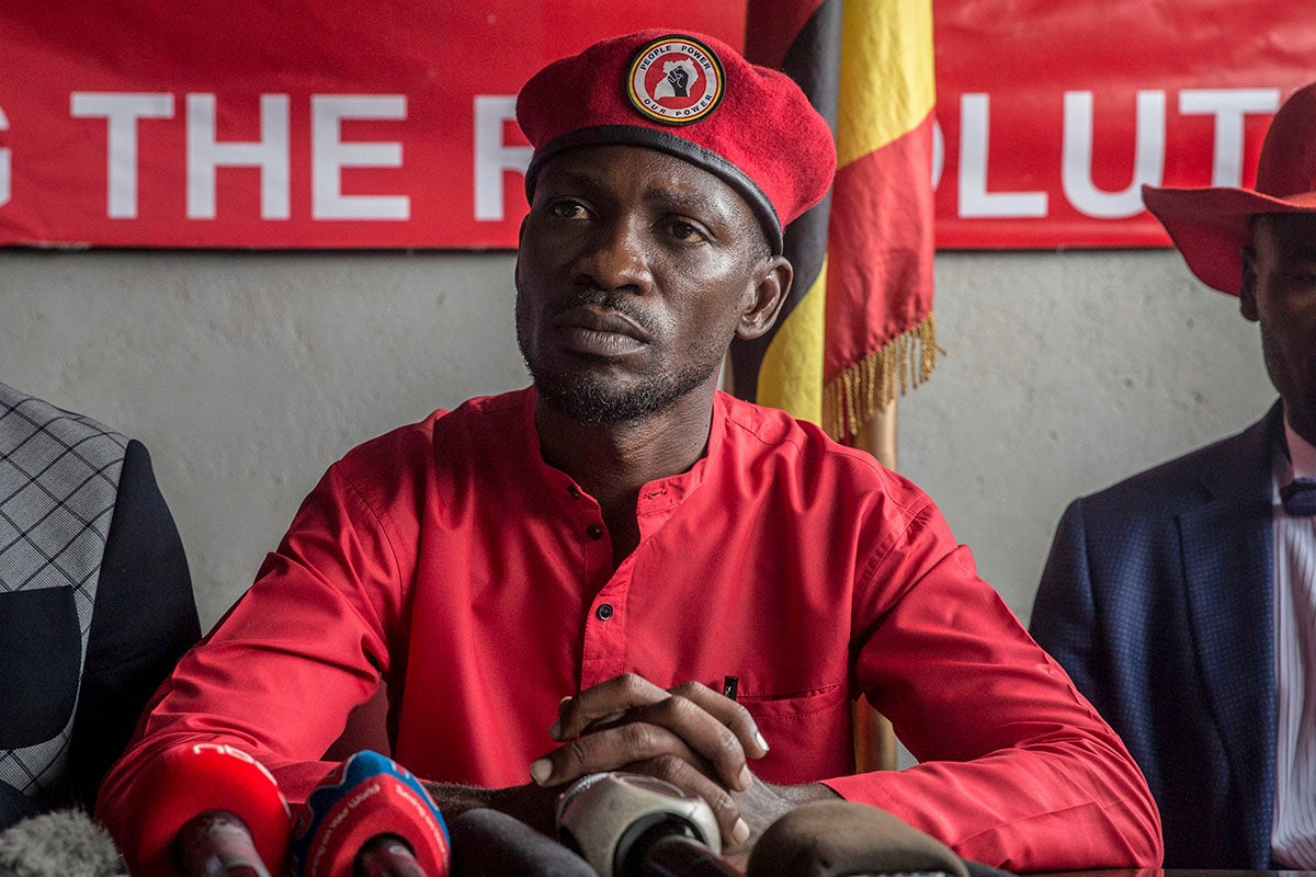 Arrest of Uganda's Bobi Wine Spells Trouble for 2021 Election   Human Rights Watch