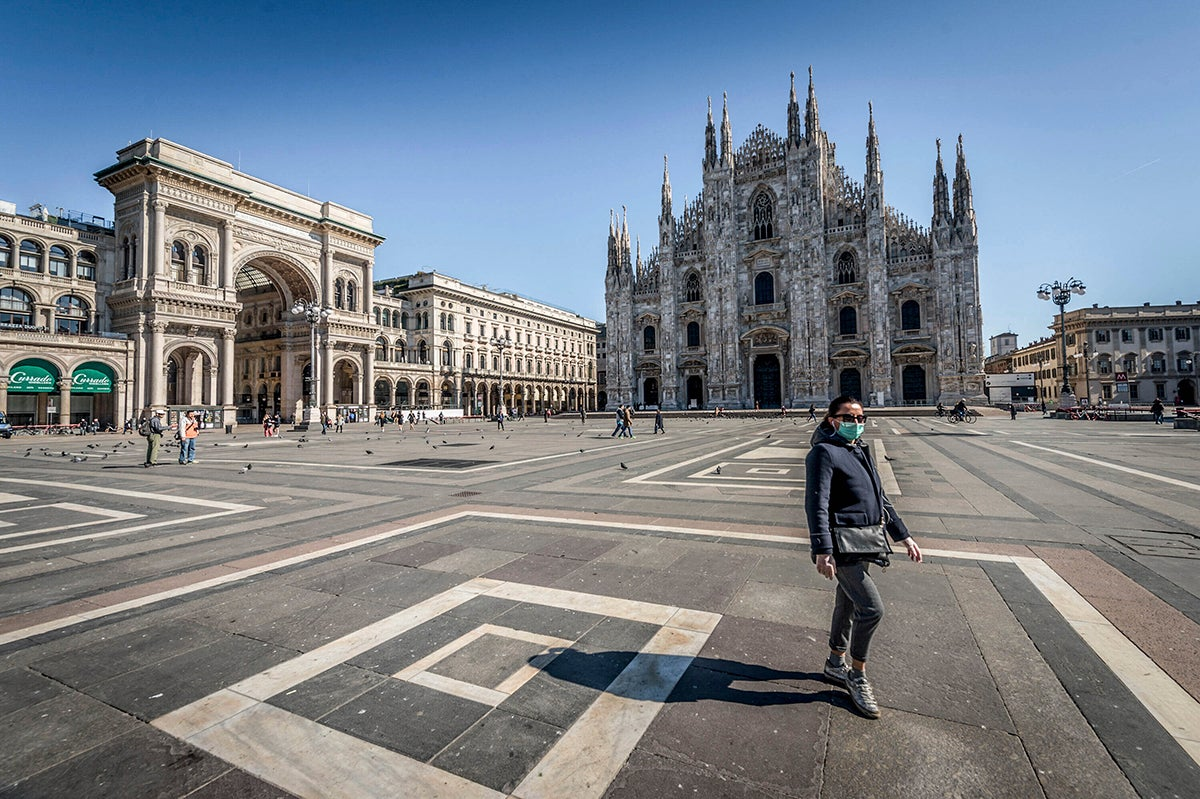 Postcard From Milan Life In Italy S Lockdown Human Rights Watch