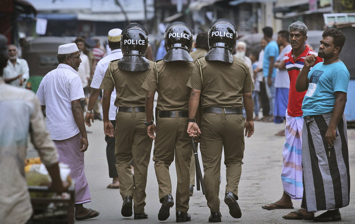 Sri Lanka: Due Process Concerns in Arrests of Muslims | Human ...