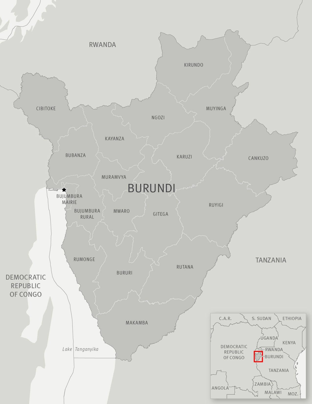 Burundi: Release lawyer Tony Germain Nkina